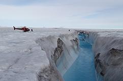 Zachariae Glacier. Foto: Anders Anker Bjørk.