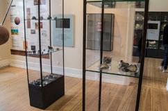 """En """"klump"""" fra Ejby-meteoritten har tidligere været udstillet på Geologisk Museum, men det er første gang, at offentligheden får mulighed for at se alle stykkerne samlet. Det sker i vinterferien i ugen 7 og 8. Foto: Anders Peter Schultz, Statens Naturhistoriske Museum."""