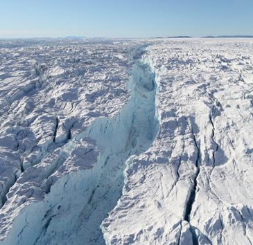 Indlandsisen har øget havenes vandstand med over fire meter